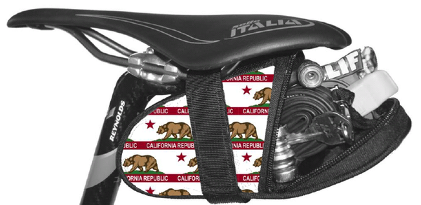 California Bear Saddle Bag Seat Wedge Krieg