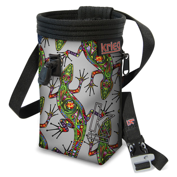 Krieg Lizard Rock Climbing Chalk Bag