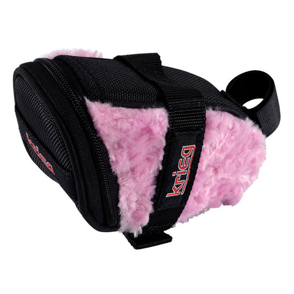 Krieg Pink Bunny Soft Saddle Bag Seat Wedge