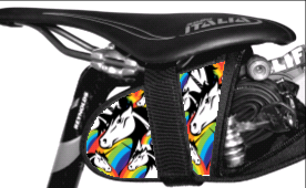 Unicorn Krieg Believe Saddle Bag Seat Wedge