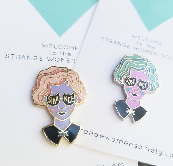 Strange Sisterhood Pins