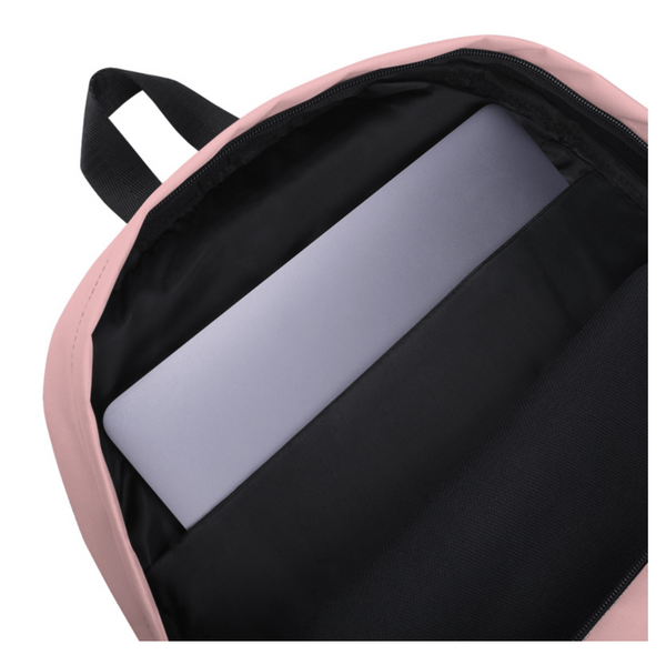 Strange Babe Backpack (pink//black)