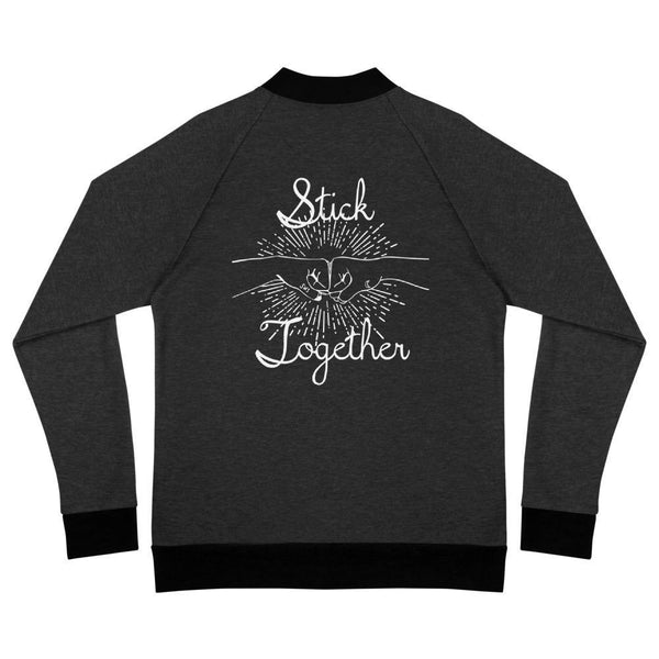 Stick Together Bomber Zip Up