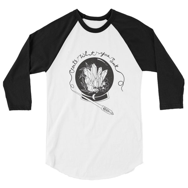 Create What You Seek Raglan Tee