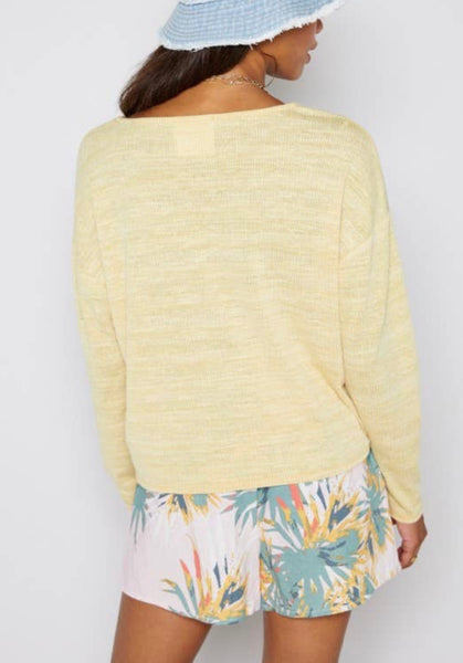 Scoop Neck Knit Top - The Green Shelf Boutique