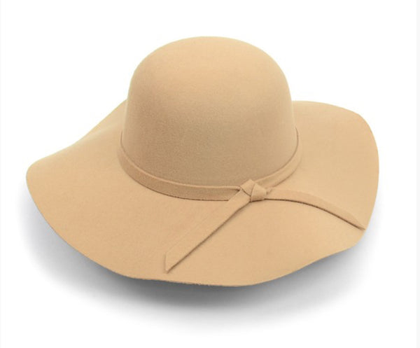 Wide Brim Floppy Hat - The Green Shelf Boutique