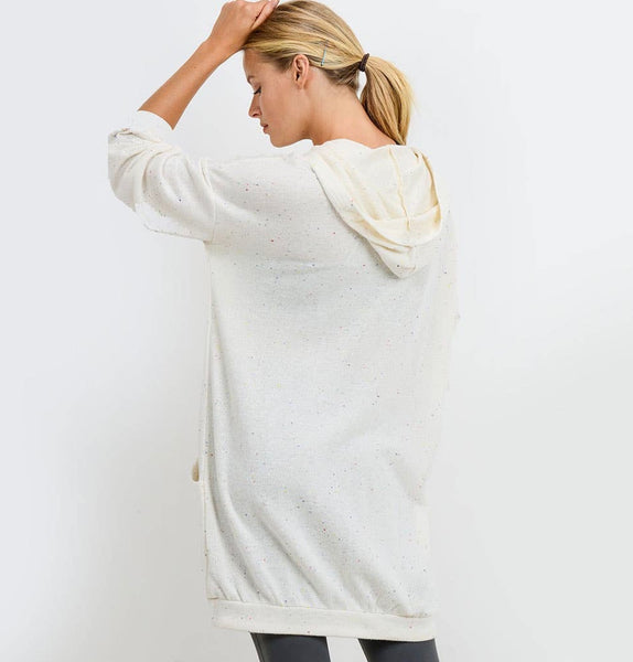 Longline Hoodie - The Green Shelf Boutique