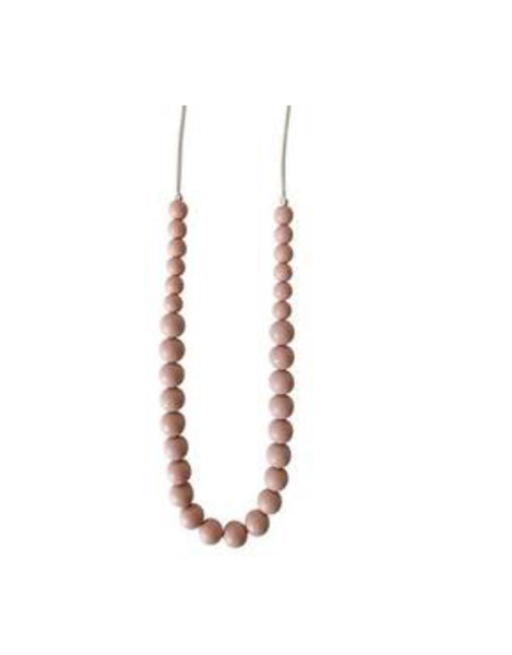 Teething Necklace- Blush - The Green Shelf Boutique