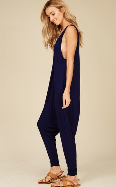 Harem Jumpsuit - The Green Shelf Boutique