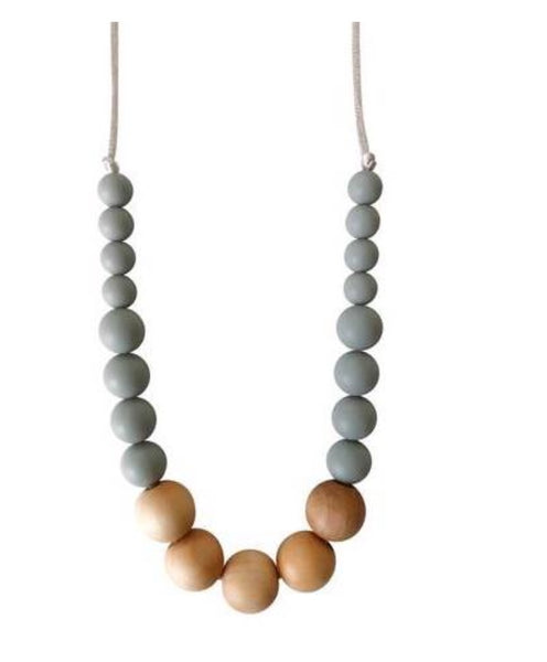 Landon Teething Necklace - The Green Shelf Boutique