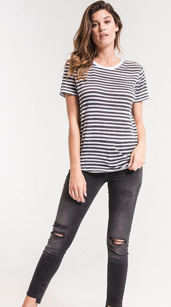 Striped Tee - The Green Shelf Boutique