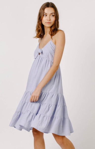Tiered Midi Dress - The Green Shelf Boutique
