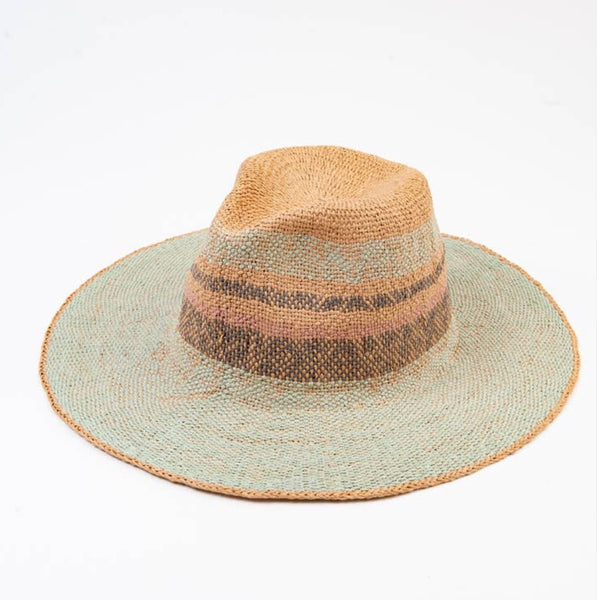 Laguna Color Stripe Straw Hat