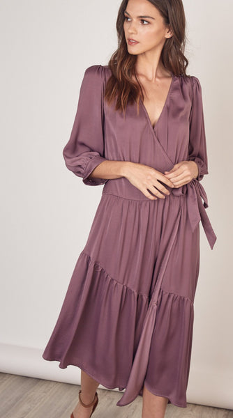 Waist Tie Wrap Dress