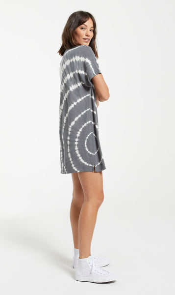Launa Spiral Tie Dye Dress