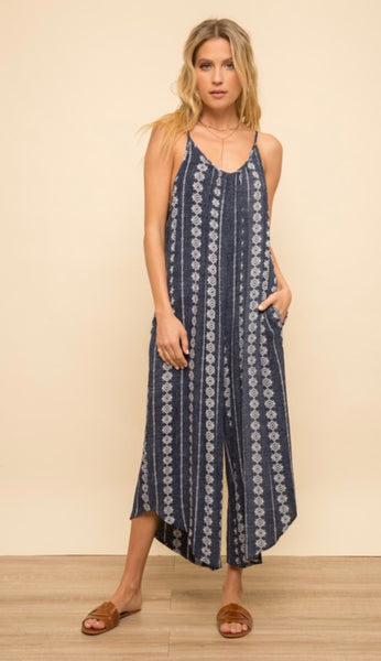 Wide Leg Jumpsuit - The Green Shelf Boutique