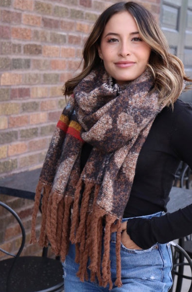 Leopard Scarf - The Green Shelf Boutique