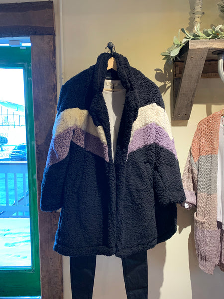 Sherpa Jacket - The Green Shelf Boutique