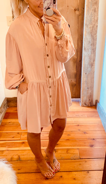 Full Sleeve Tunic Dress