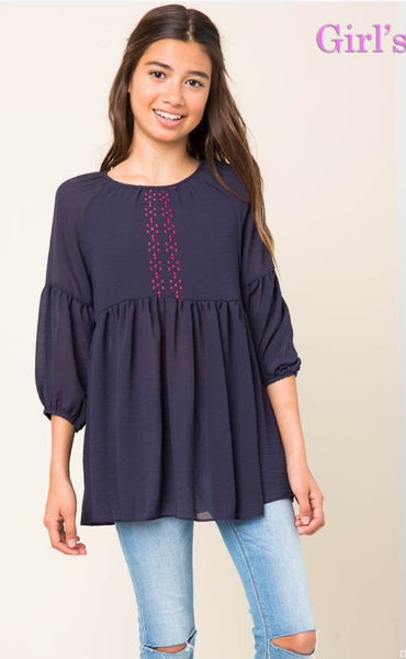 Girls Top - The Green Shelf Boutique