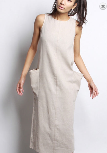 The Pocket Dress - The Green Shelf Boutique