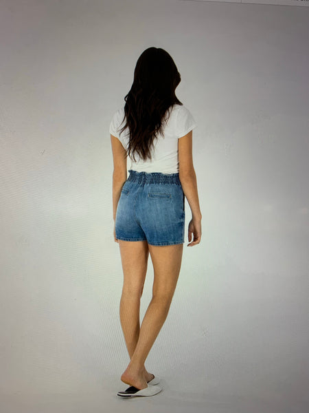 Paper Bag Shorts - The Green Shelf Boutique