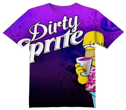 Dirty Sprite Tee Shirt - OFFICIAL ShirtJunky™ - All Over Print Apparel