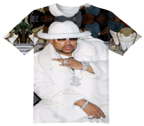 Pimp C Tee Shirt - OFFICIAL ShirtJunky™ - All Over Print Apparel
