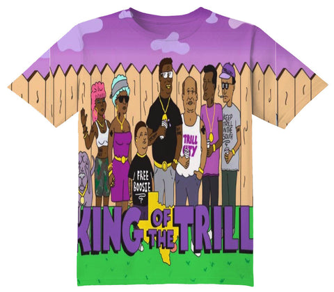 King Of The Trill Tee Shirt - OFFICIAL ShirtJunky™ - All Over Print Apparel