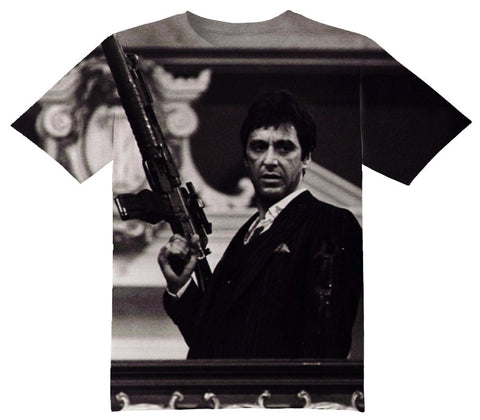 Scarface Tee Shirt - OFFICIAL ShirtJunky™ - All Over Print Apparel