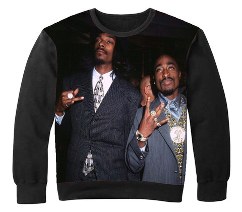 2PAC & SNOOP LEGENDS Crewneck - OFFICIAL ShirtJunky™ - All Over Print Apparel
