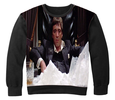 SCARFACE Crewneck - OFFICIAL ShirtJunky™ - All Over Print Apparel
