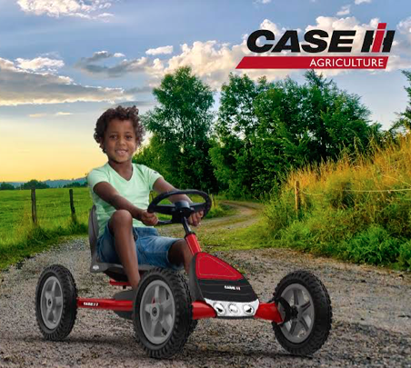 Introducing The New Buddy CAse-IH Pedal Kart!