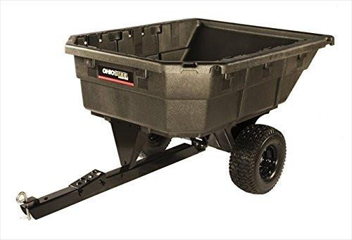 """Check out this Ohio Steel 4048P-SD 750 LB Poly Swivel Dump Cart"""