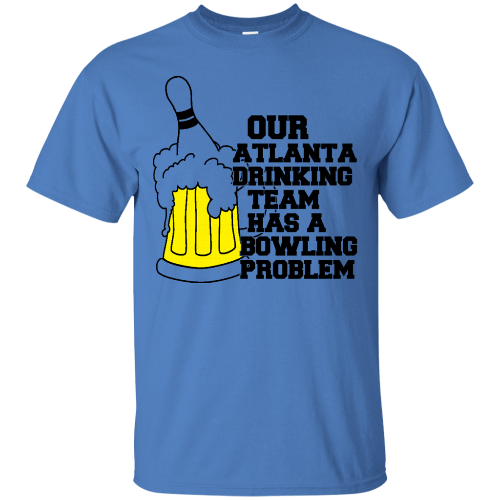 "Atlanta Drinking Team ""Bowling"" Problem T-Shirt"