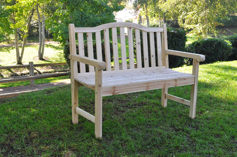 Shine Company Belfort Garden Bench Natural by Shine Company Inc.