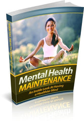 Mental Health Maintenance eBook