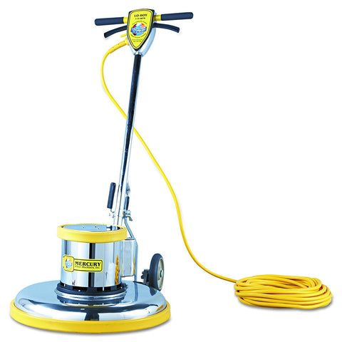 Mercury L-21E Lo-Boy Super Heavy-Duty Floor Machine, 175 RPM