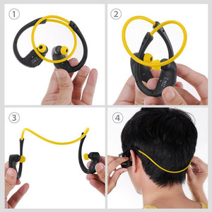 Mpow MBH6 Cheetah 4.1 Bluetooth Headset - Wireless Sport Earphone for iPhone Android Phone