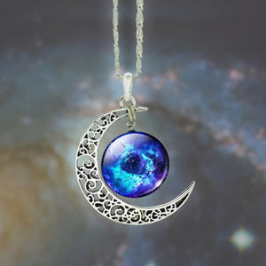 Star Moon Time Pendant