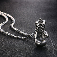 Lovely Mini Boxing Glove Necklace
