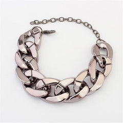 Simple Big Chain Design Fashion Bracelet For Women
