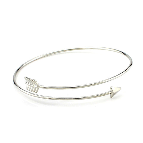 Arrow Style Bangle Bracelet - Allrate Shopping