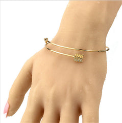 Arrow Style Bangle Bracelet