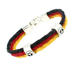World Cup National Flag Bracelet