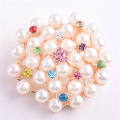Beautiful Imitation Pearl Brooch for Women