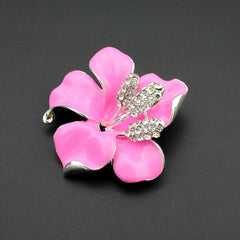 Exquisite Lily Flower Brooch For Ladies