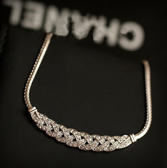 High Quality Full Rhinestone Choker Necklace