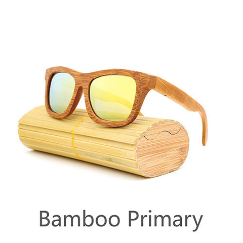 Image of Bamboo Style Sunglasses - Allrate Shopping