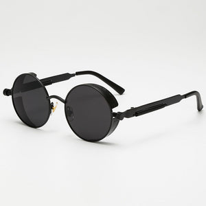 AFOFOO Men's Vintage Metal Sunglasses